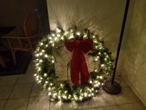 3FT !!!! Indoor/outdoor lighted Christmas wreath in Alamogordo, New Mexico
