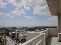 High rise apartment in Okinawa city in Okinawa, Japan