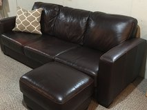 Couch & loveseat w ottoman set in Naperville, Illinois