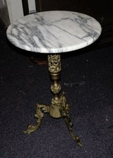 Vintage Marble Top Table in Baytown, Texas