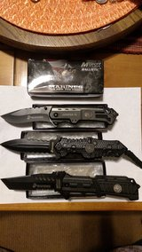 Marine Folding Knives Mtech NIB 2 Varieties in 29 Palms, California