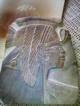 Egypt stone picture handmade in Ramstein, Germany