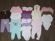 Carter's 16 piece girl lot (size 6 month) in Fort Carson, Colorado