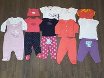 Carter's 13 piece girl lot (size 3 month) in Fort Carson, Colorado