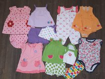 Carter's girl summer outfit lot (size 3 month) in Fort Carson, Colorado