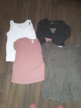4 H&M maternity shirts size L in Fort Carson, Colorado