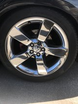 Shock Dodge Charger Rims w/ Tires in Lake Elsinore, California
