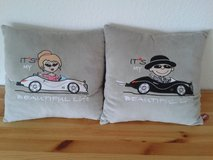 2 suede pillows for a car or a living room in Stuttgart, GE