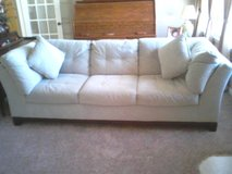 MistySage Microfiber Sofa (Stain Resistant) in Camp Lejeune, North Carolina