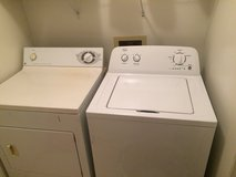 Washer and dryer in Hinesville, Georgia