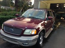 $ 2979-obo- 2001 Burgundy FORD EXPEDITION-Eddie Bauer, XLT, hydraulic-ride, not air. 4-new tires in Fort Lewis, Washington