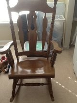 Wooden Rocking Chair in Bolingbrook, Illinois