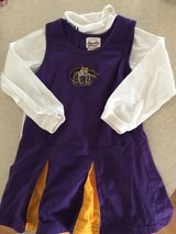 LSU Tigers cheerleader outfit 4T in Camp Lejeune, North Carolina