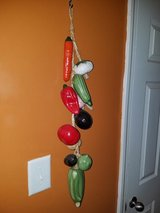 Large / Ceramic Vegetable Wall Hanging in Fort Campbell, Kentucky