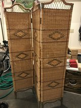 Room divider - wicker - reduced in Fort Campbell, Kentucky