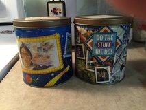 Old Boy Scout Popcorn Canisters in Camp Lejeune, North Carolina