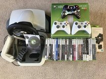 Huge Xbox 360 Package(Console,Controllers,Games,Steering wheel,Instruments) in Naperville, Illinois