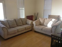 light tan couches reduced in Fort Irwin, California