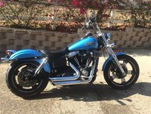 Harley Davidson Dyna Street Bob in Camp Pendleton, California