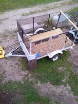 Utility Trailer (New Floor treated wood) in Belleville, Illinois