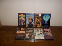 8 NEW VHS Movies in Fort Campbell, Kentucky