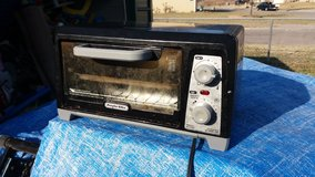 Small toaster oven in Fort Riley, Kansas