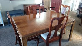 Dinning Room Table and 4 Chairs in Camp Lejeune, North Carolina