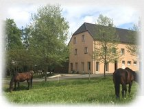 House (detached to an old, lately completely renovated, farmhouse (small horse breeding farm)) in Spangdahlem, Germany