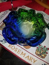 Ruffled Blue / Green Candy Dish in Fort Campbell, Kentucky