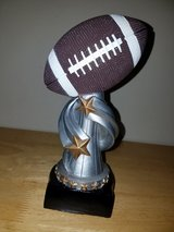 engravable football trophy..new in Lockport, Illinois