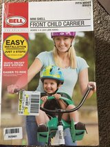 Bell Sports Bicycle Child Carrier Seat Front Mini Shell in Fort Campbell, Kentucky