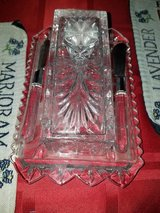 Lenox Crystal Butter Dish in Fort Campbell, Kentucky