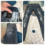 7 for all man kind jeans size 26 in Lake Elsinore, California