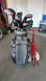 Golf Clubs, w Bag and Cart in Fort Irwin, California