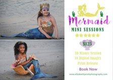 Mermaid photography sessions in Pensacola, Florida