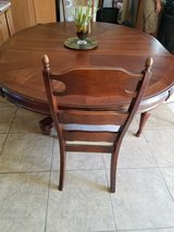 Solid Wooden Kitchen Table in 29 Palms, California