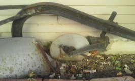 Antique Farm Plow in Algonquin, Illinois