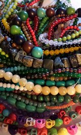 Assorted Gemstone Bead Strands in Huntsville, Alabama