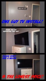 tv mounting flat screen in Phoenix, Arizona