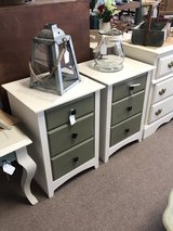 Accent Tables w/3 Drawers (749) in Camp Lejeune, North Carolina