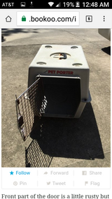 Large dog crate in Baytown, Texas