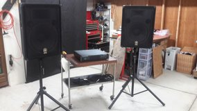 PA System (Yamaha BR 15, Behringer 2 x 1000W Amp) in Okinawa, Japan