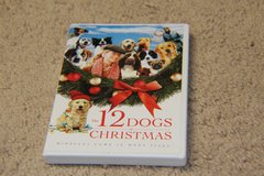 12 Dogs Christmas DVD  (free with purchase of another one of my items) in Glendale Heights, Illinois