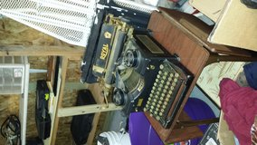 old typewriter with drop leaf table in Houston, Texas