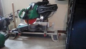 "12"" Hitachi compound miter saw in Columbus, Georgia"