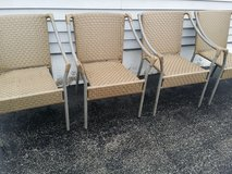 Patio chairs in Chicago, Illinois