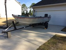 1980 16 FT Alumacraft Lunker with 40HP Mercury in Fort Bragg, North Carolina