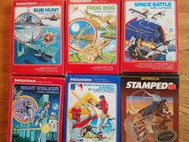 INTELLIVISION GAMES - 31 in all!  REDUCED! in Bolingbrook, Illinois