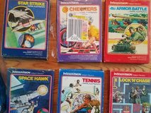 INTELLIVISION GAMES - 31 in all! in Plainfield, Illinois