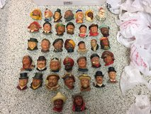 37 Vintage Bosson heads. in Travis AFB, California